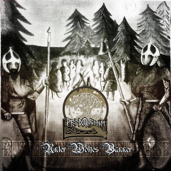 Waldtraene - Unter Wolfes Banner Digi-CD